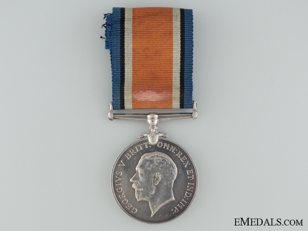 WWI British War Medal to Captain Wilkes; Canadian Army Dental Corps