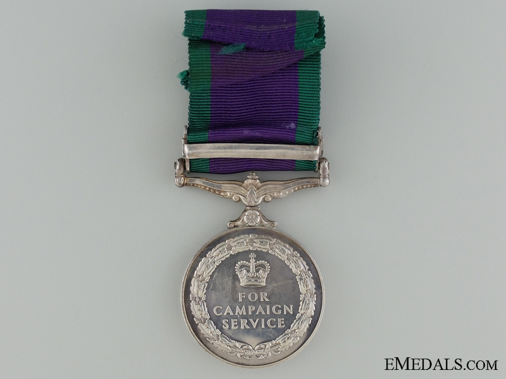 1962-2007 General Service Medal to the Royal Corp of Transport
