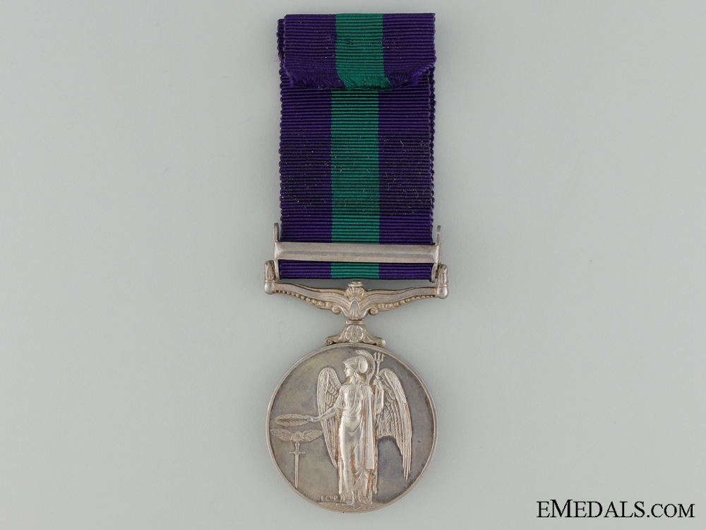 1962-2007 General Service Medal to the Royal Signal Corps