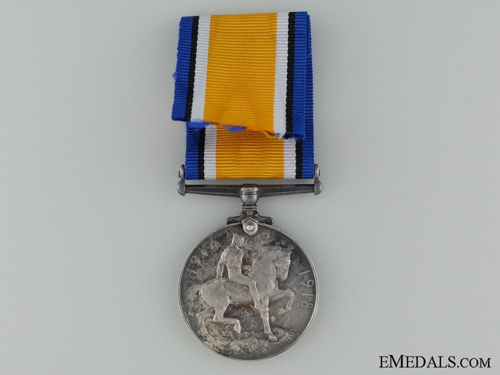 WWI British War Medal to the W.O.R.
