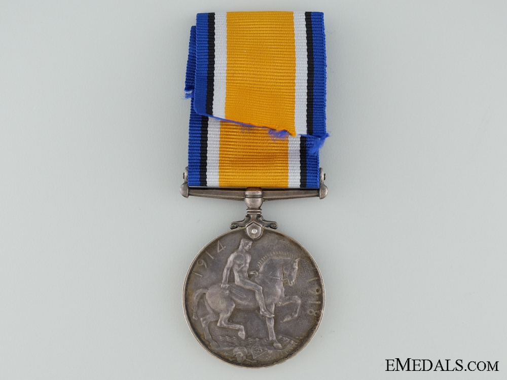 WWI British War Medal to the Royal Fusiliers