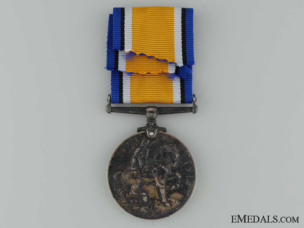WWI British War Medal to the Canadian Cavalry Brigade