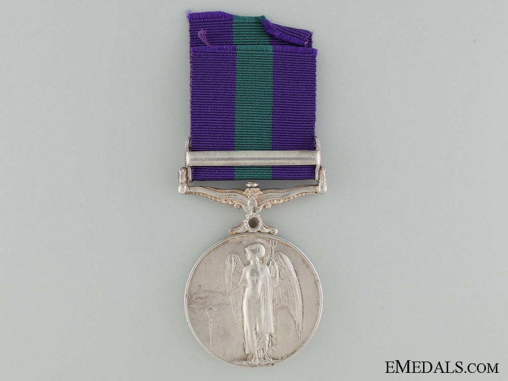 A 1918-1962 General Service Medal to the Malaya Home Guard