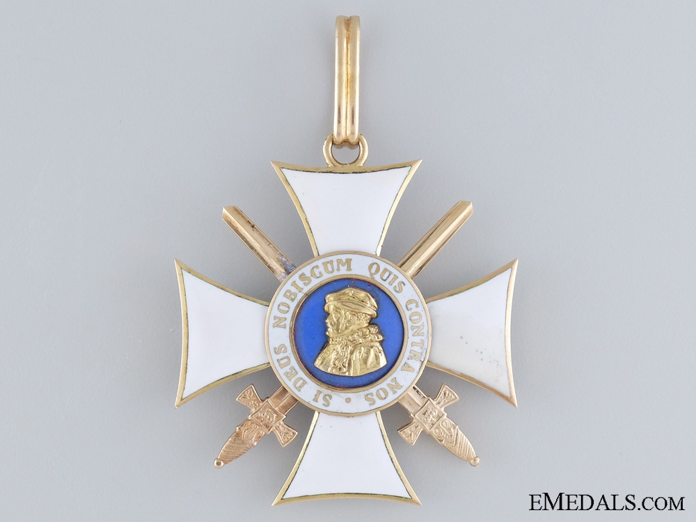 The Order of Philip the Magnanimous with Swords, in Gold