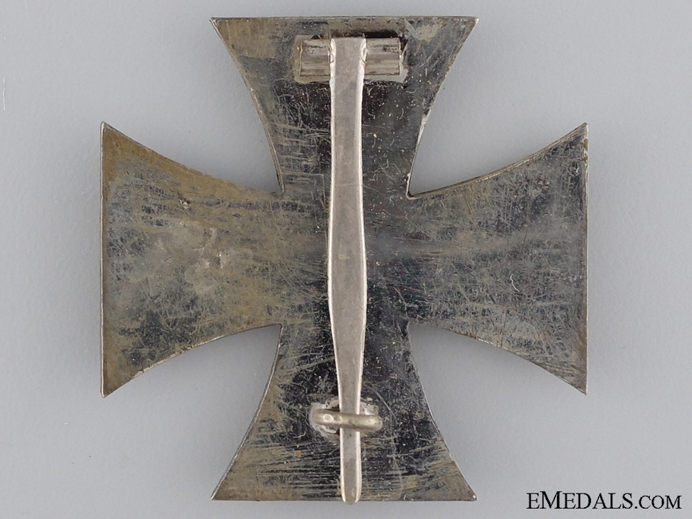 1914 First Class Iron Cross; Unmarked