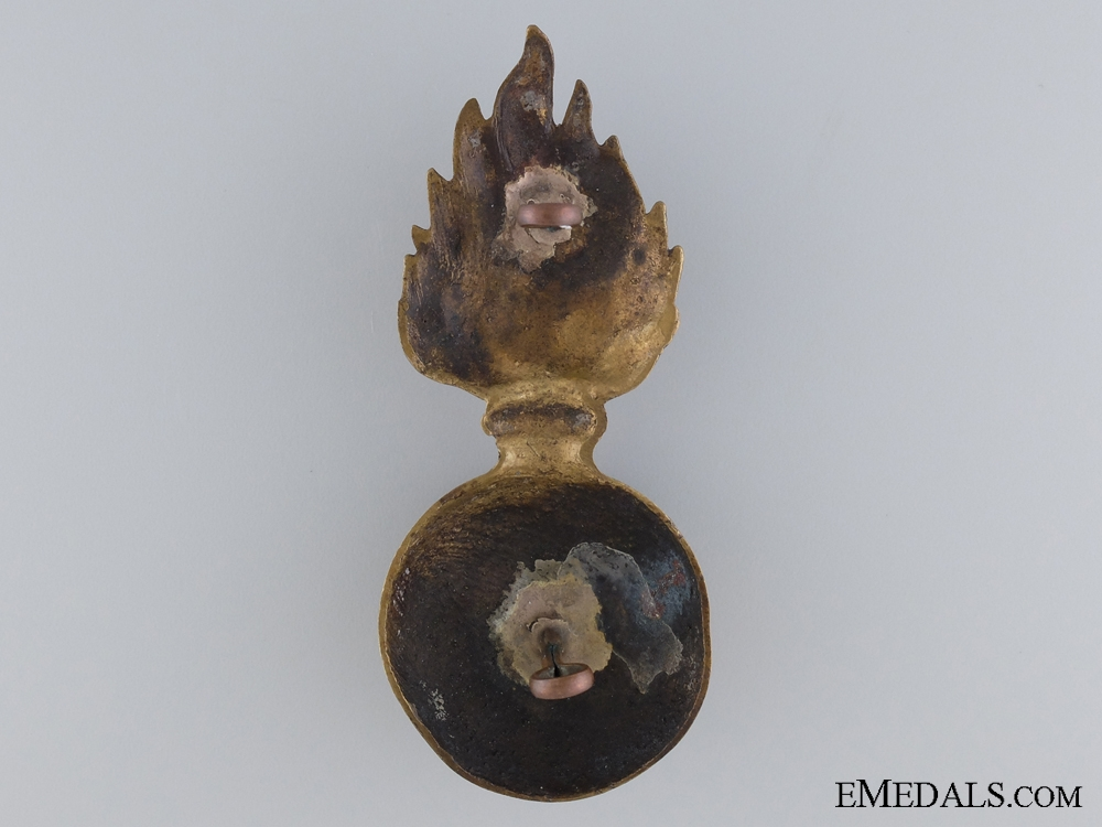 A Welsh Fusiliers Officer's Grenade Badge