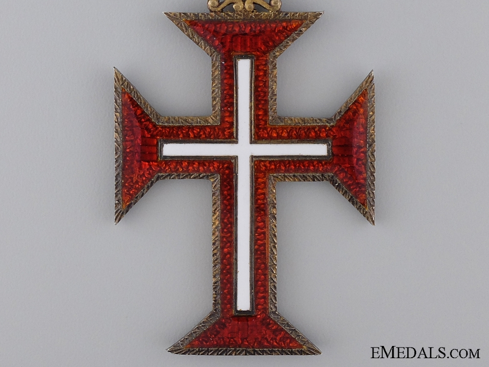 A Portuguese Order of the Christ; Grand Cross Badge