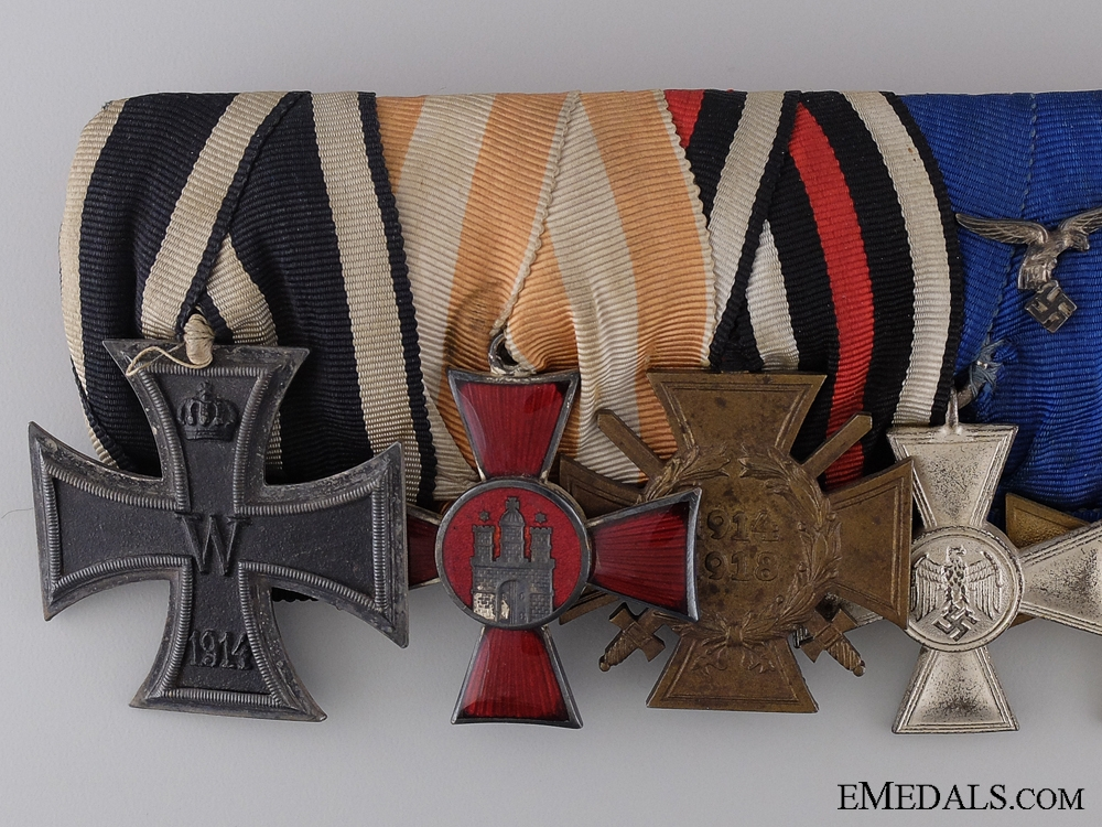 A Fine Imperial German Group of Seven