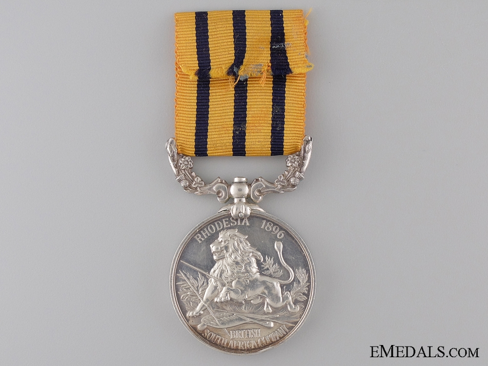 British South Africa Company's Medal to the Lancashire Regiment