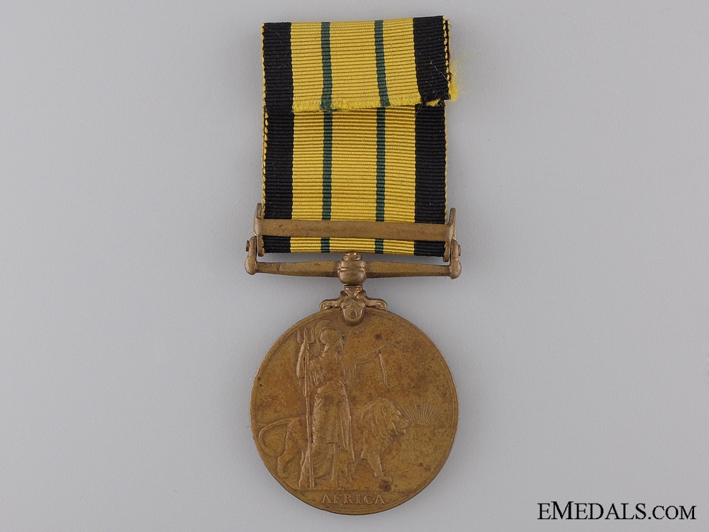 Africa General Service Medal to the 109th Infantry