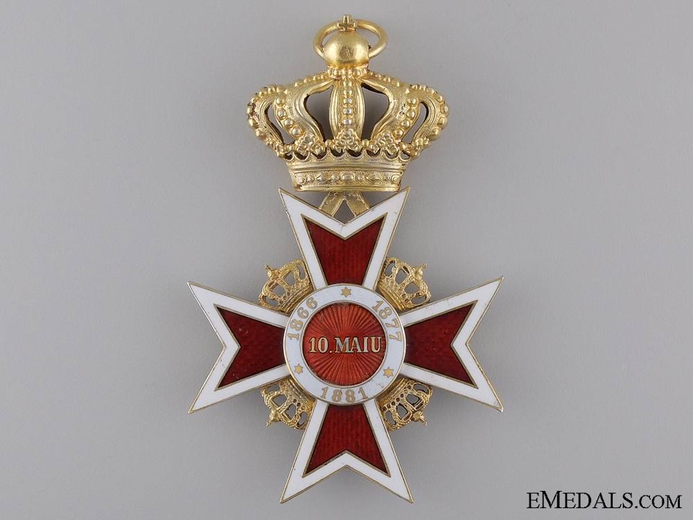 The Order of the Romanian Crown 1932-47; Grand Cross by Zimmermann