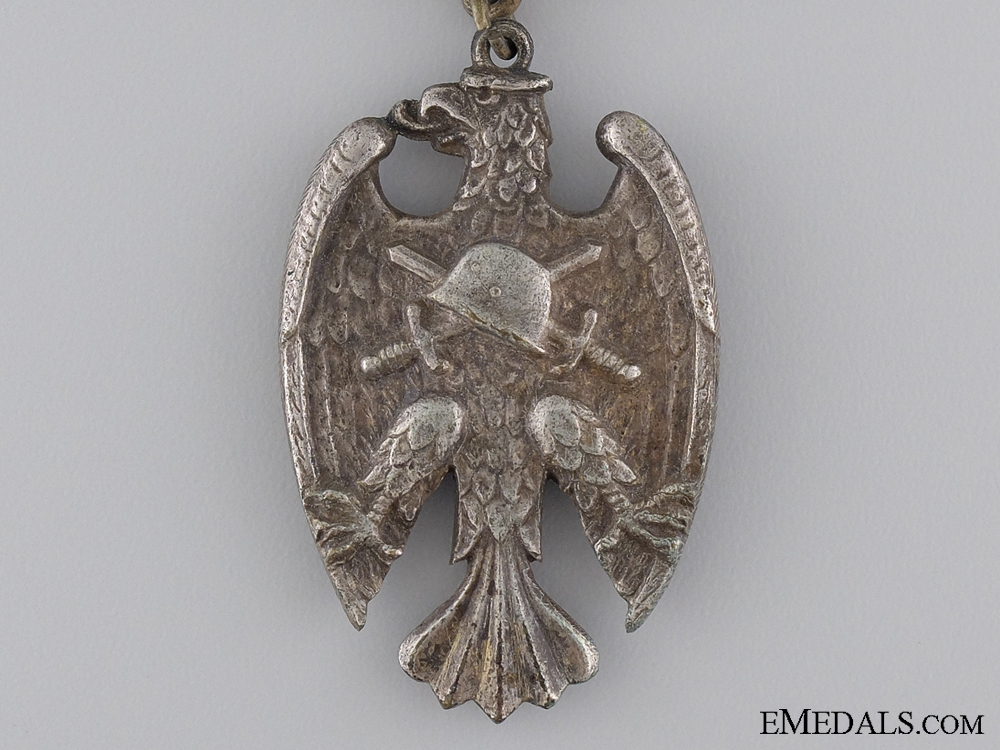 """A 'Starhemberg Vogel' Heimwehr Medal With """"July"""" Clasp"""