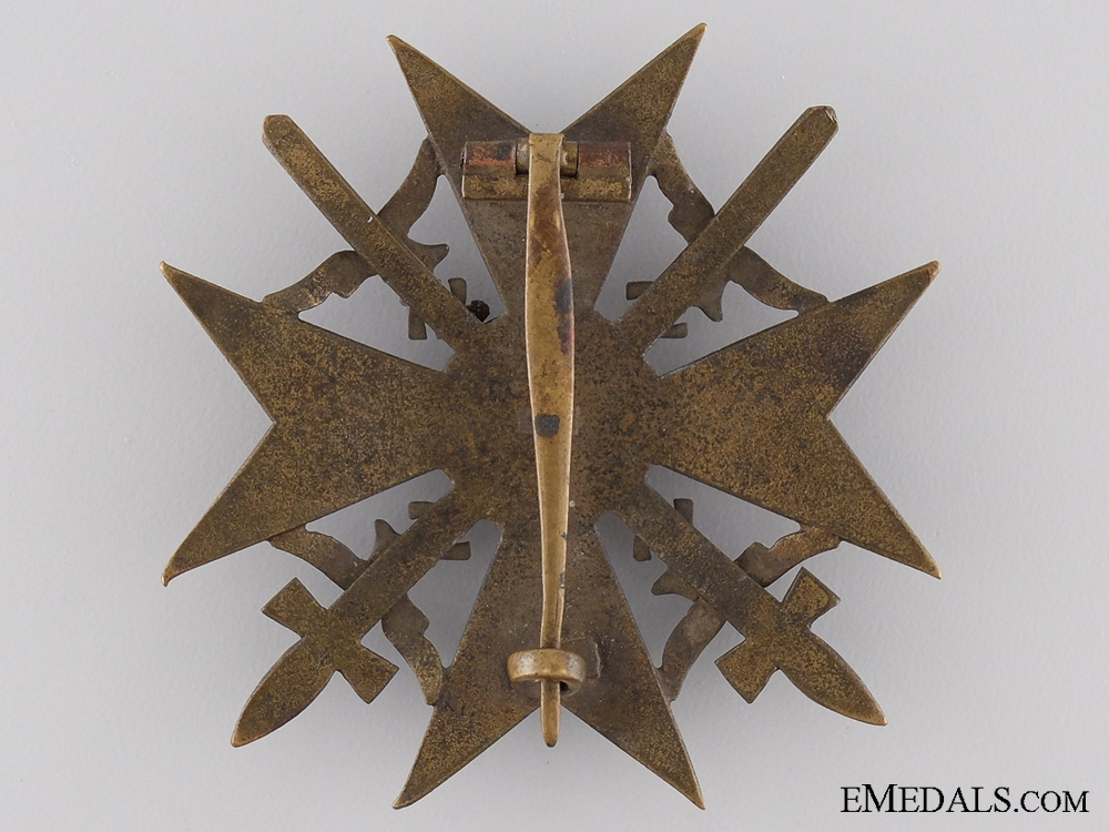 A Spanish Cross with Swords by Juncker
