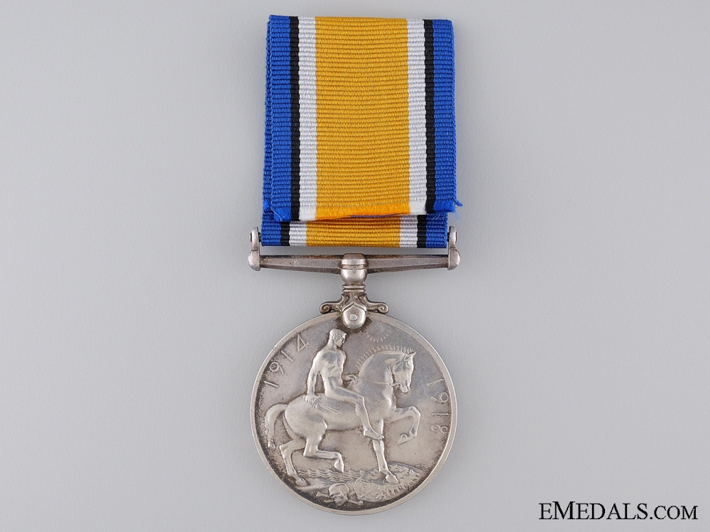 A British War Medal to the 2nd Canadian Infantry; KIA