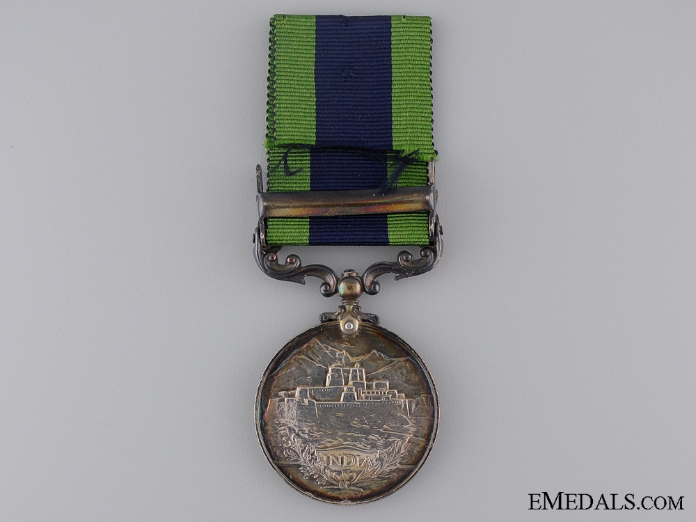 1908-35 India General Service Medal to the Hampshire Rifles