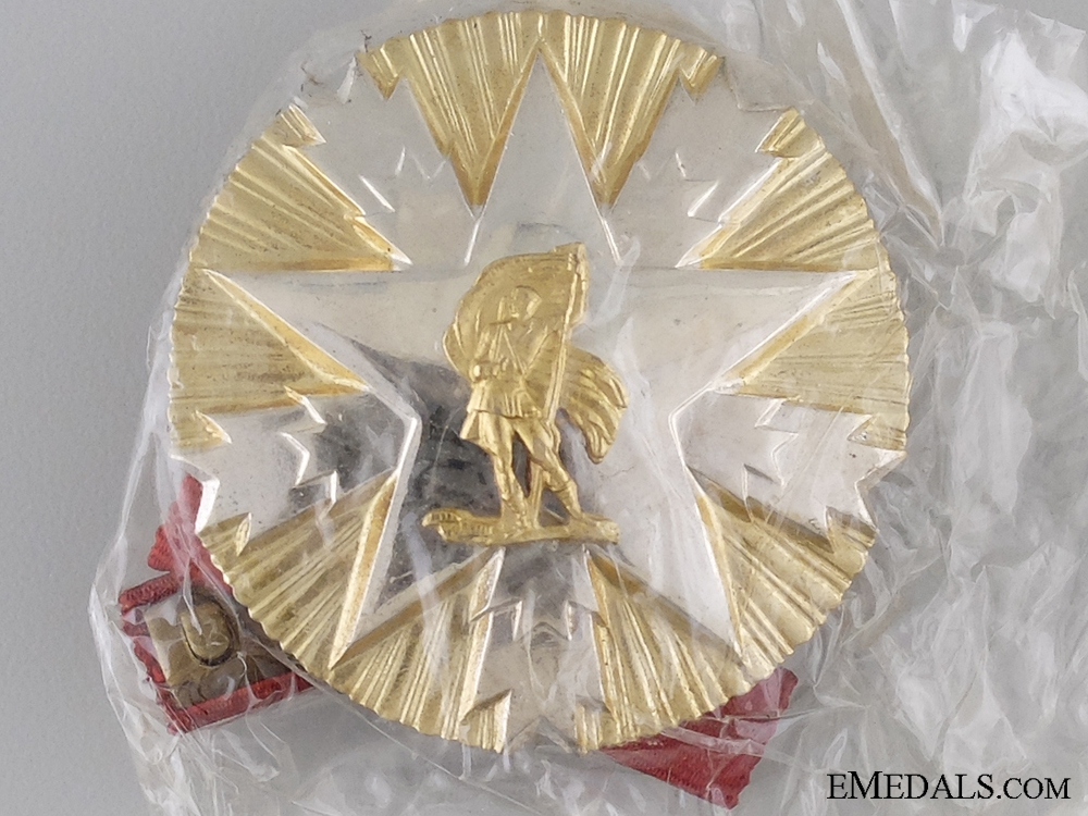 A Mint Yugoslav Order of the Meritorious Service to the Nation
