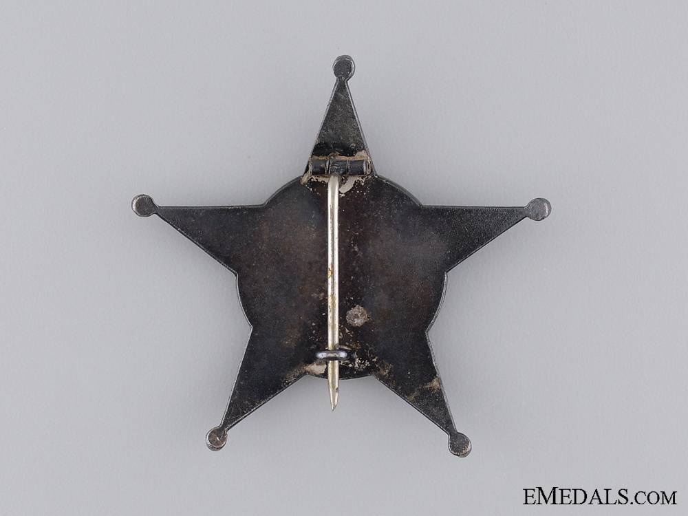 1915 Campaign Star  (Iron Crescent); German Made