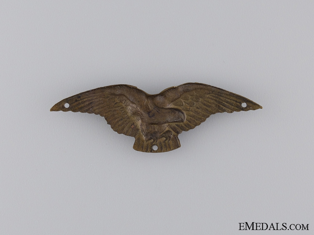 1930 Hungarian Pilot Wing; Unmarked
