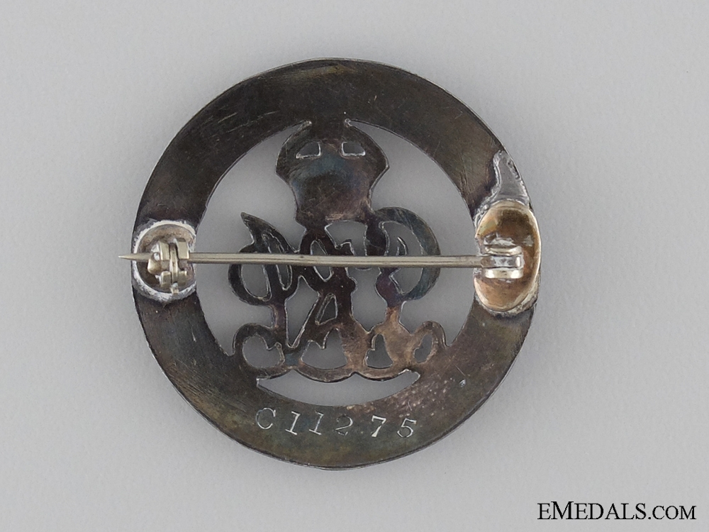 A WWI Canadian Silver War Badge