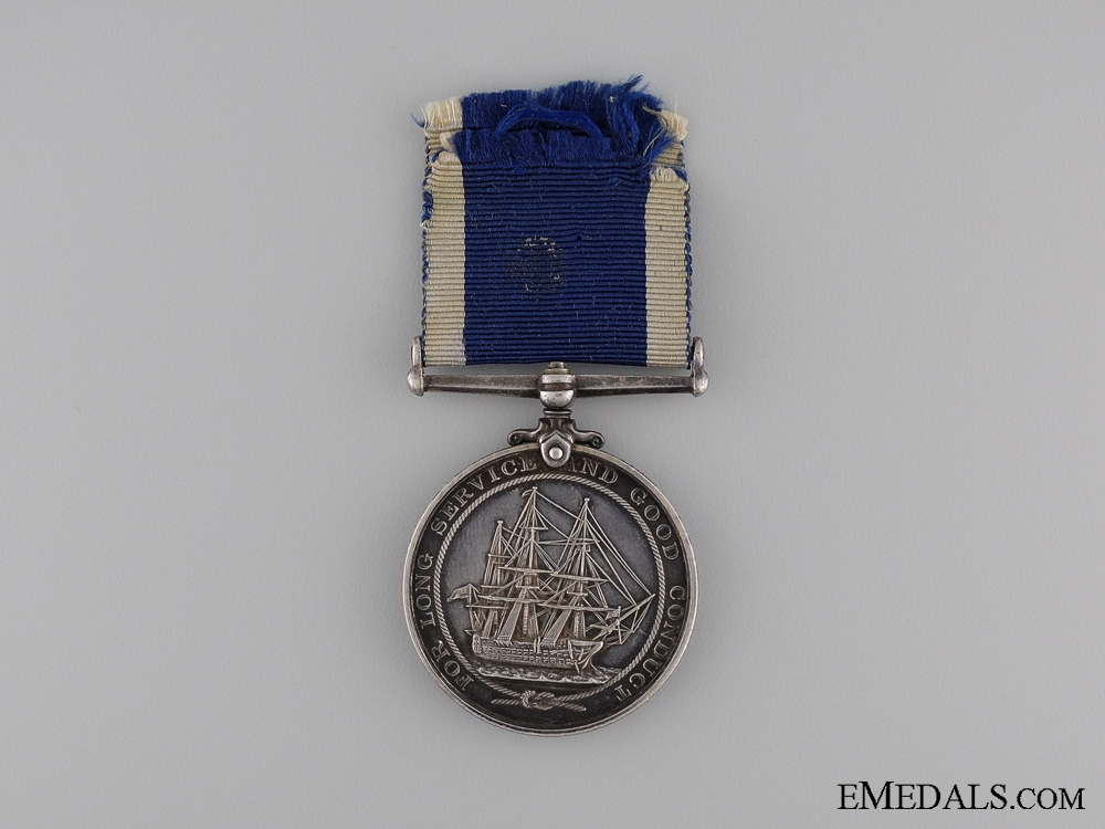 Royal Naval Long Service and Good Conduct Medal to the Royal Marine Light Infantry