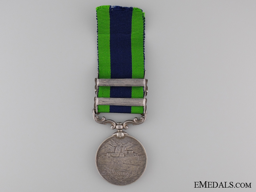 India General Service Medal 1908 to the 13th Pack Battery