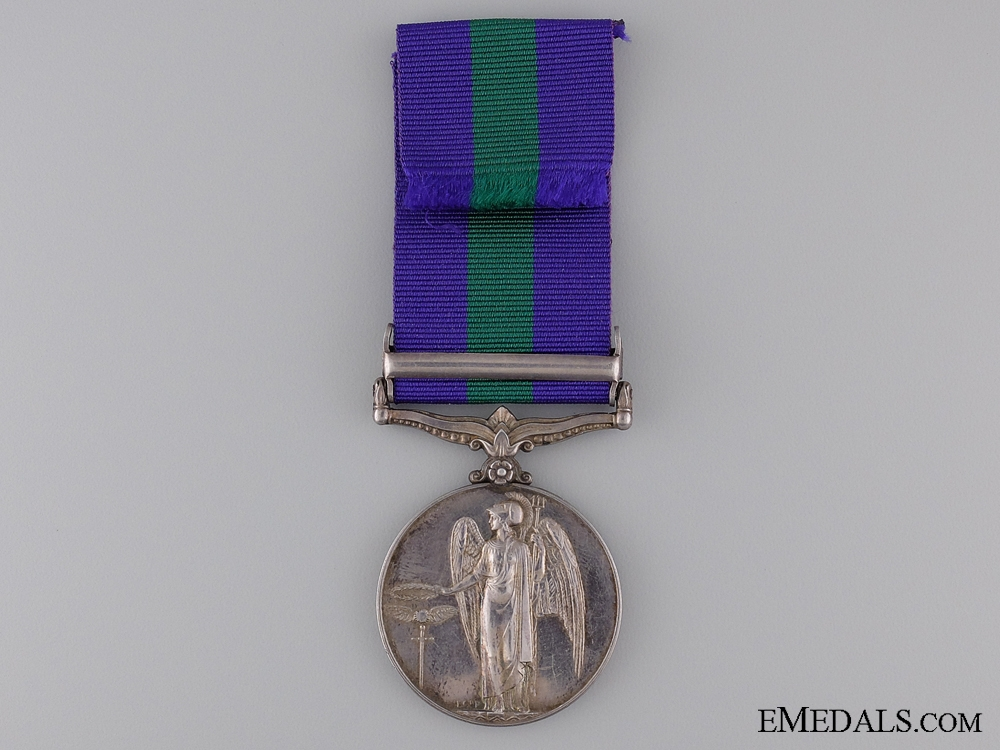 General Service Medal to the Royal Air Force