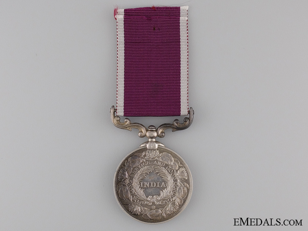 Indian Army Meritorious Service Medal to the Sikh Regiment
