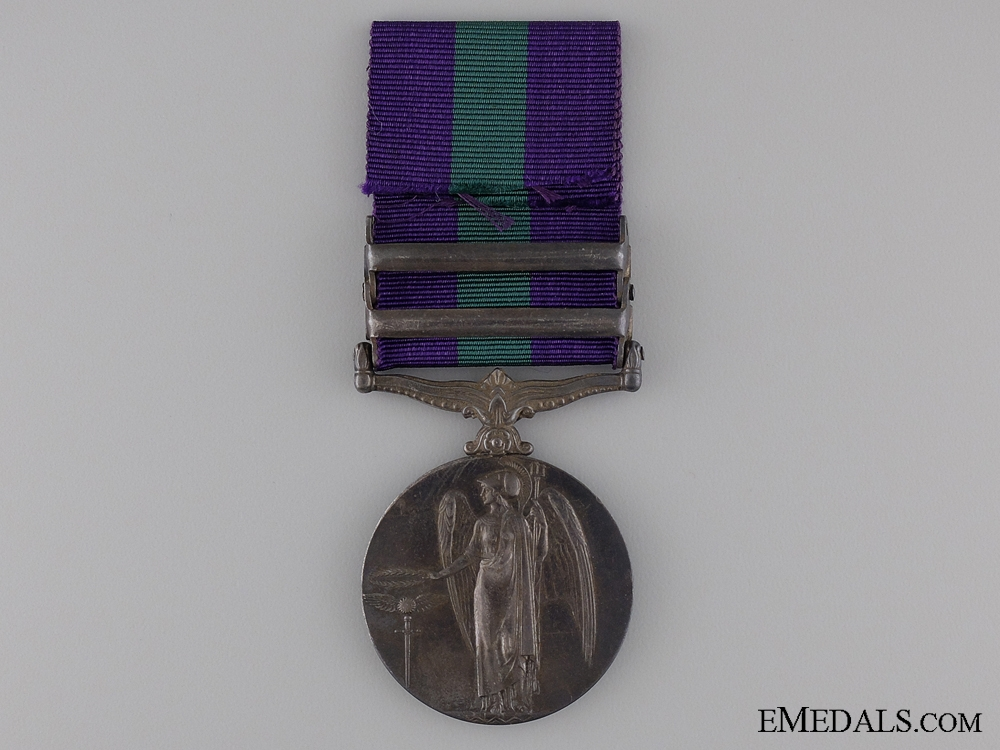 1918-62 General Service Medal to the 87th Punjabis