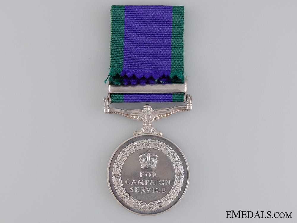 1962 General Service Medal to the Gurkha Engineers