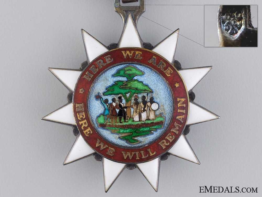 The Order of the Pioneers of Liberia; Knight Badge