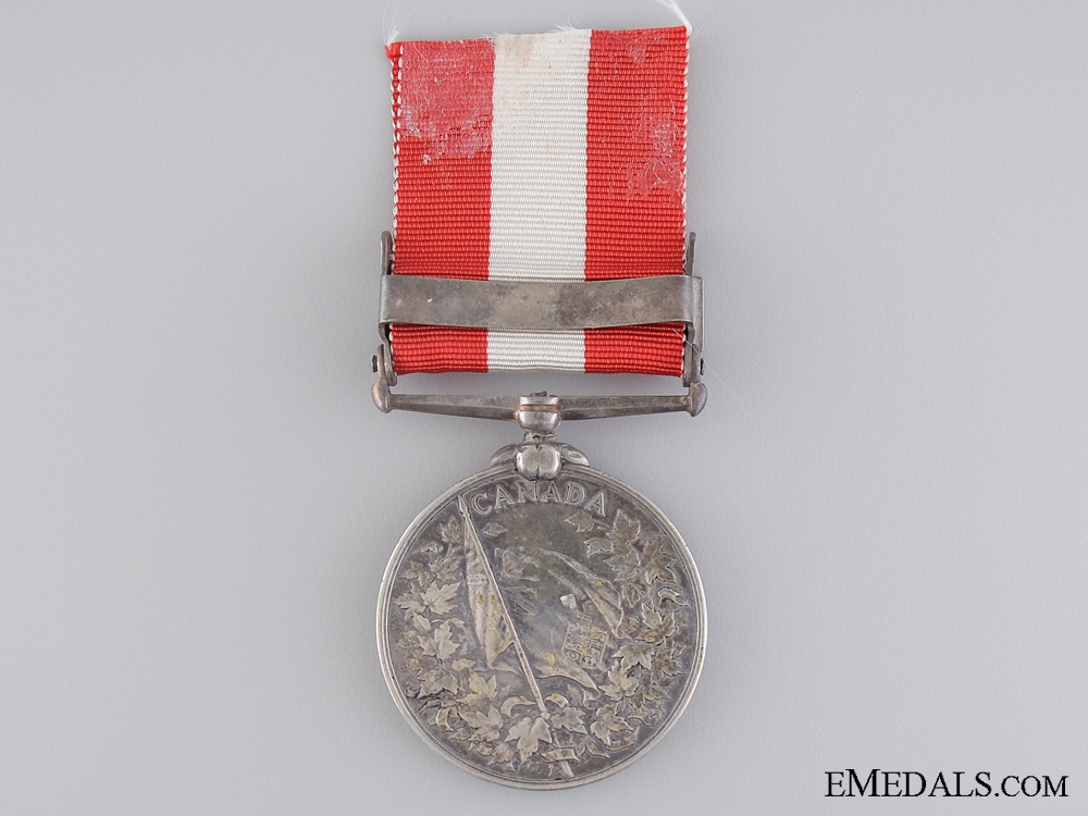 A Canada General Service Medal to the 2nd Chatham Infantry Company