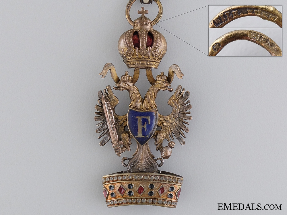 An Austrian Order of the Iron Crown by W. Kunz