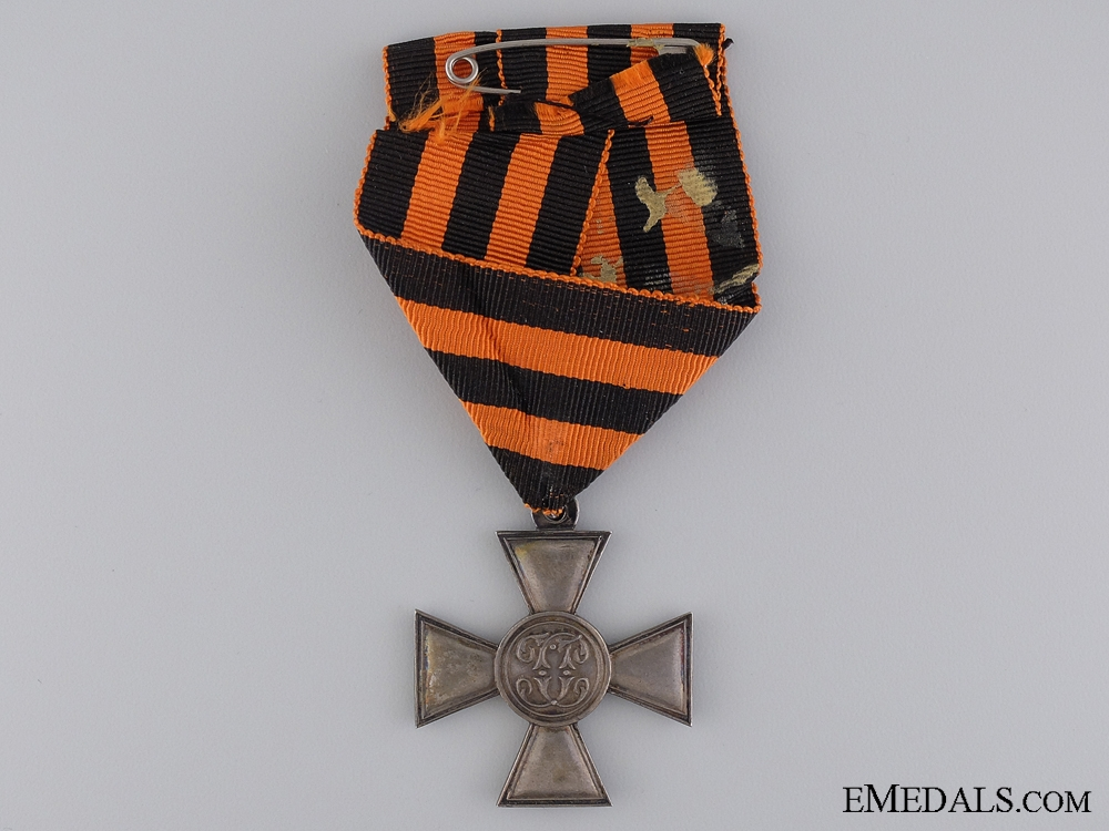 An Imperial Russian St. George Cross; 3rd Class