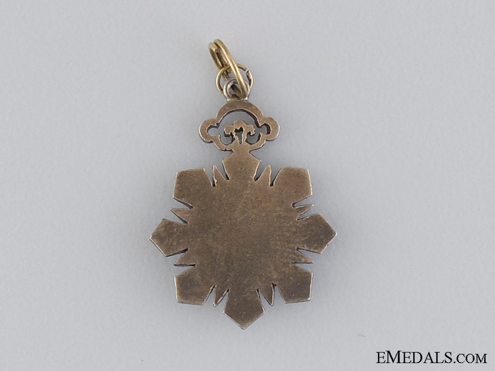 A Miniature Chinese Order of the Double Dragon; 4th Class