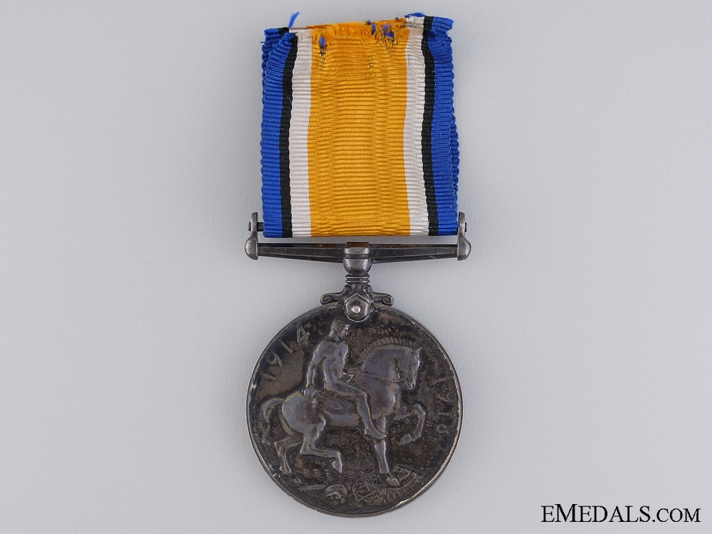 A British War Medal to the 4 Canadian Infantry
