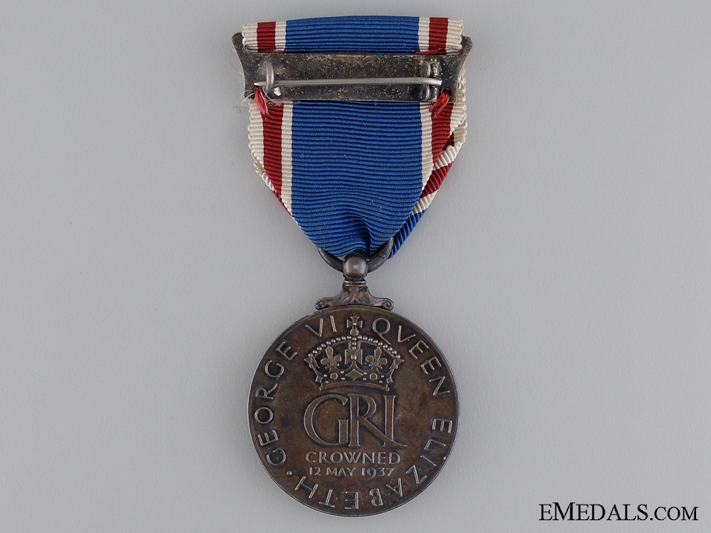 A George the 6th Coronation Medal 1937