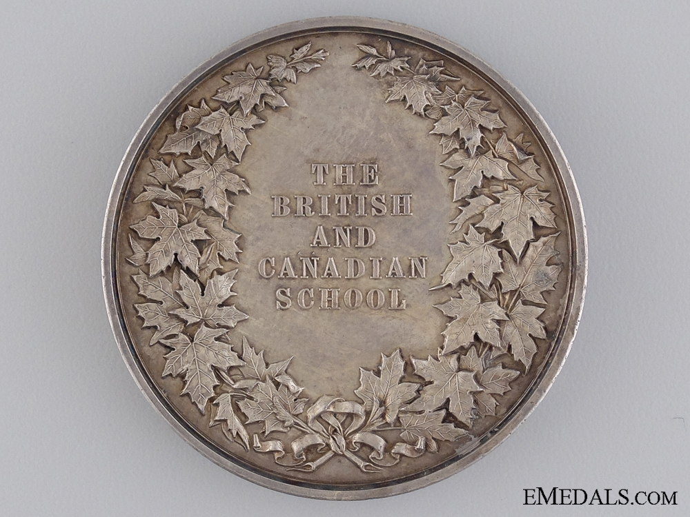 The British and Canadian School Medal