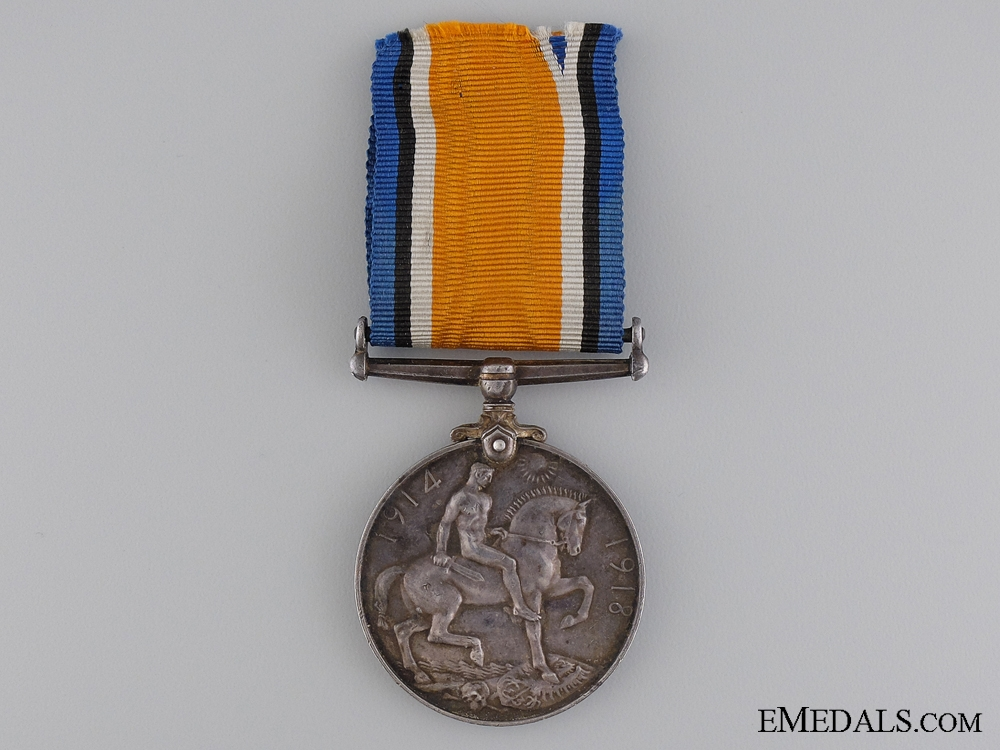 A WWI British War Medal to the Mercantile Marine Reserve
