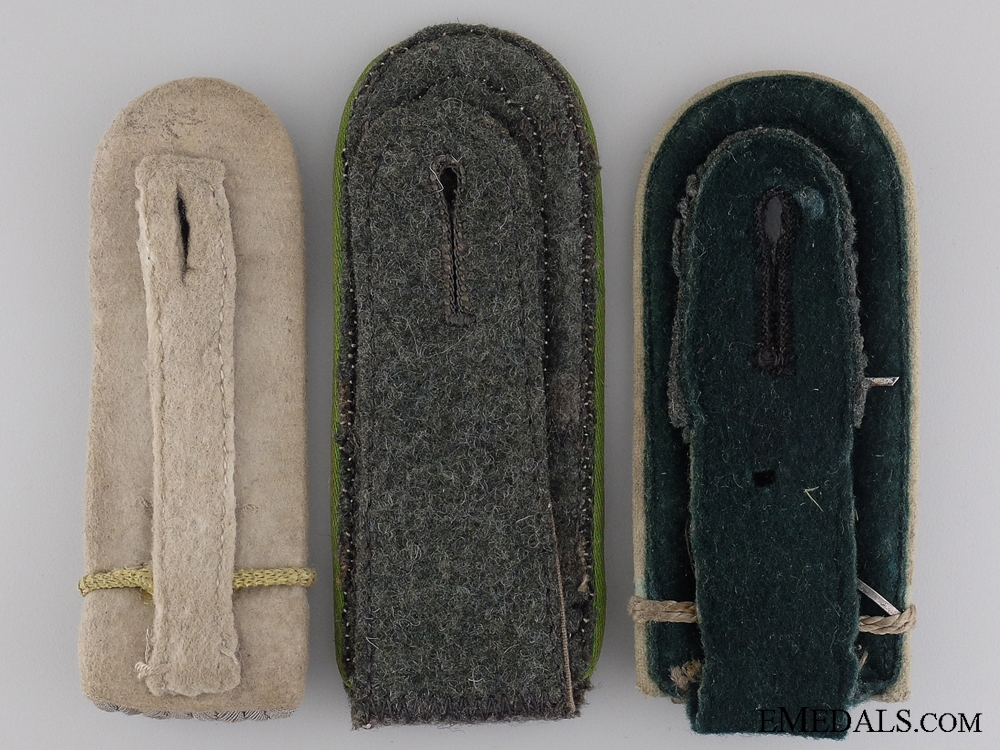 Three German Army Shoulder Boards