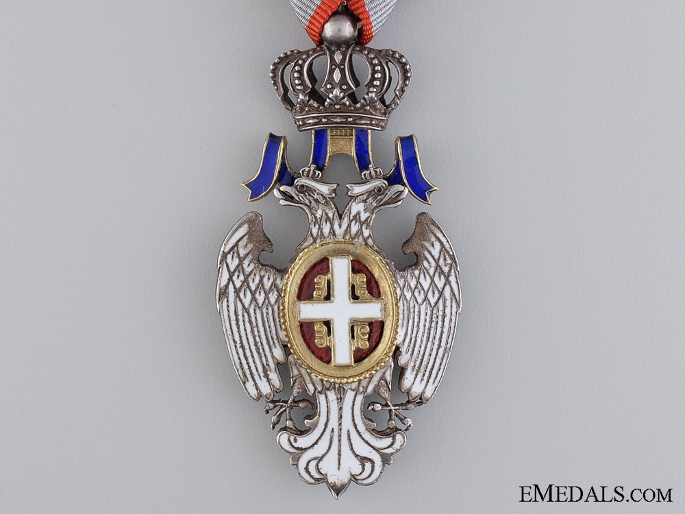 A Serbian Order of the White Eagle; Knight