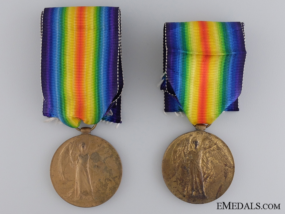 A First War Victory Medal to Victoria Cross Recipient 1917