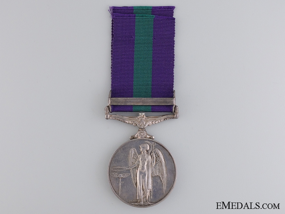 A General Service Medal 1918-1962 to the Royal Malay Regiment