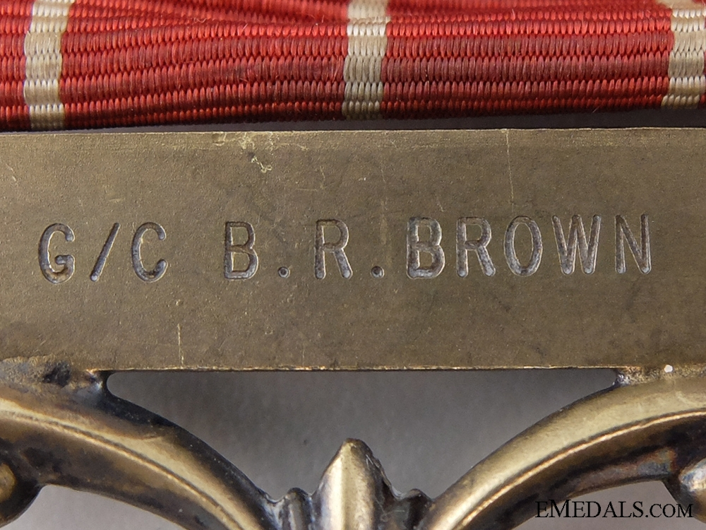 A Second War Royal Canadian Air Force Group to Captain Brown