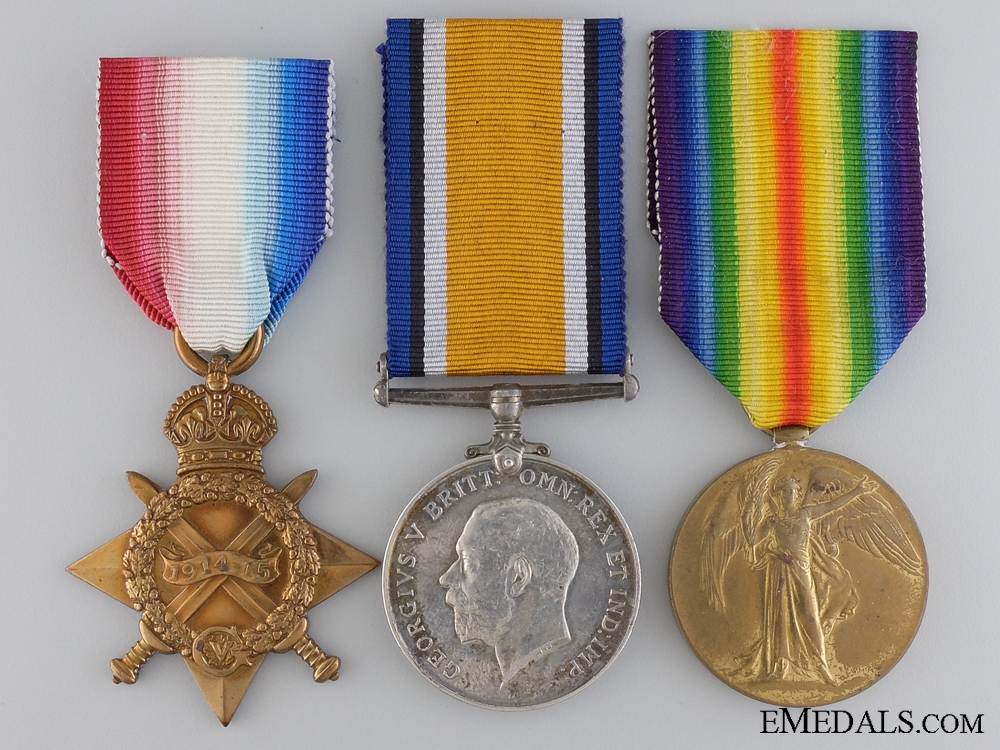 A First War Trio to the 3rd Canadian Infantry; Kinmel Park