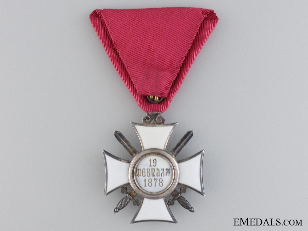 A Bulgarian Order of St. Alexander with Swords