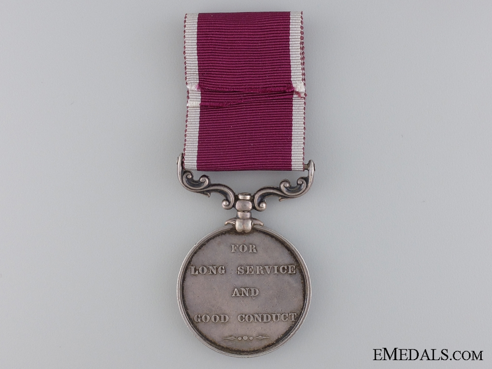 An Army Long Service and Good Conduct Medal to the C&T Corps
