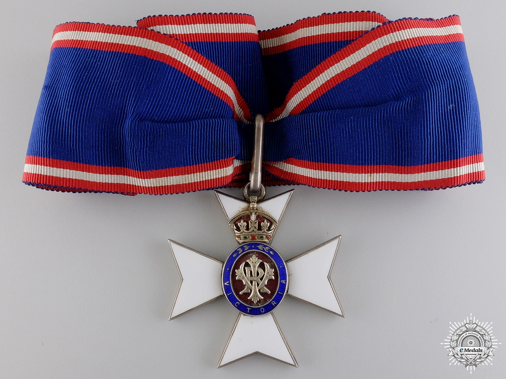 A C.V.O. group to Chaplain in Ordinary to Queen Victoria