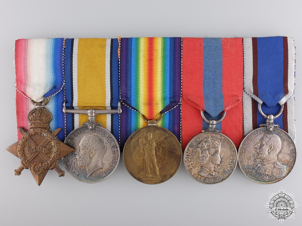A WWI Group to the Royal Marine Light Infantry; 6th Battleship Squadron