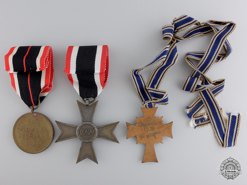 A Second War German Group of Three Awards
