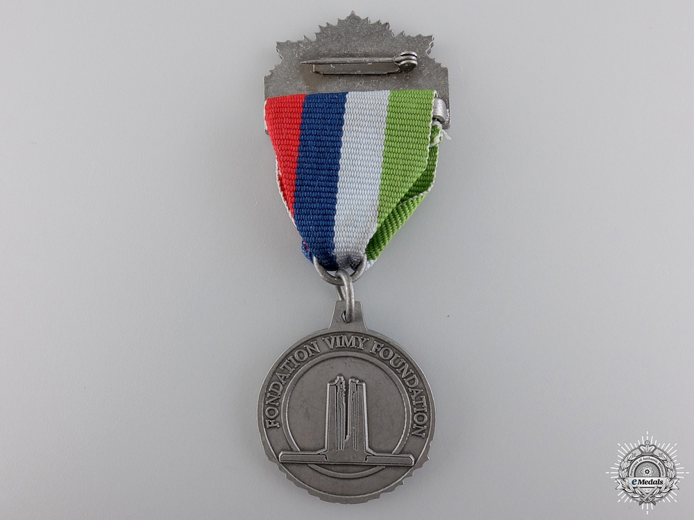 WWI Vimy Pilgrimage 90th Anniversary Medal